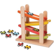 Wooden Race Track Car Ramp